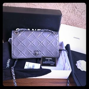 Chanel single flap crossbody bag